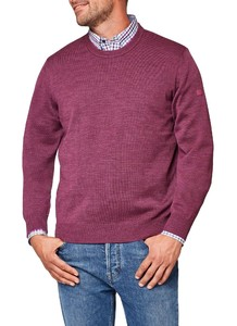 Maerz Round Neck Merino Superwash Grape Twist