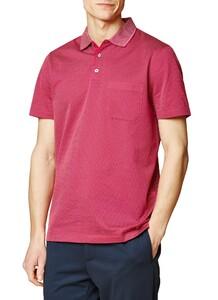 Maerz Uni Contrast Collar Pink Duplex