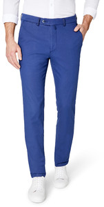 Gardeur Sonny-8 Slim-Fit Structured Flat Front Indigo