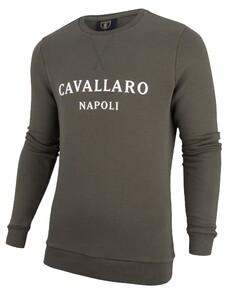 Cavallaro Napoli Morki Sweat Donker Groen