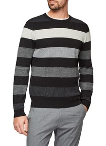 Maerz Multi Stripe Merino Superwash Black