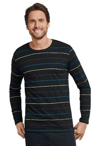Schiesser Mix & Relax Shirt Round Neck Multicolor