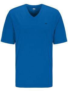 Fynch-Hatton V-Neck T-Shirt Royal