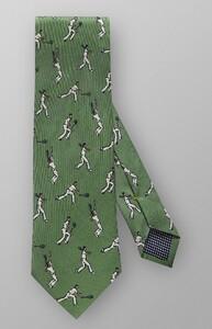 Eton Tennis Player Tie Donker Groen