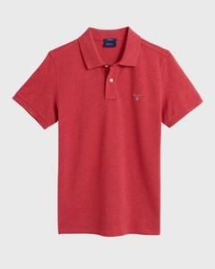 Gant Gant Piqué Polo Dark Red Melange