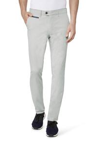 Gardeur Benny-3 Cotton Uni Midden Grijs