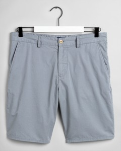 Gant Cotton Summer Shorts Windy Gray