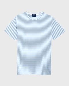Gant Repeat Stripe Capri Blue