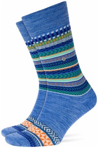 Burlington The X-Fair Isle Ocean Melange