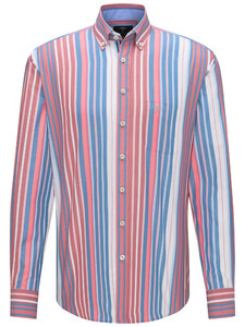 Fynch-Hatton Fantasy Multi Stripe Sangria-Blue