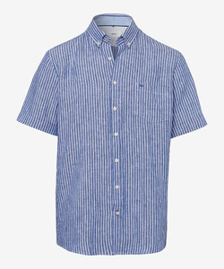 Brax Drake Button Down Summertime Navy
