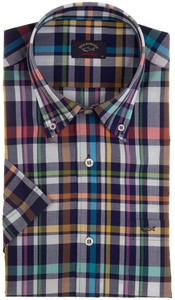Paul & Shark Multicolor Check Shirt Multicolor