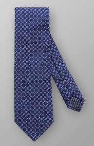 Eton Interlinking Silk Dark Navy