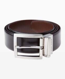 Brax Doublesided Belt Zwart-Bruin