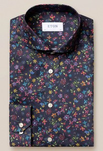 Eton Valley of Flowers Dark Navy