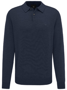 Fynch-Hatton Polo Long Sleeve Navy