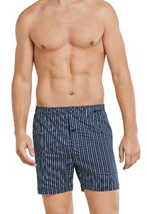 Schiesser Boxershort Dark Evening Blue