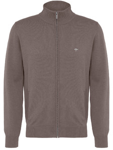 Fynch-Hatton Cardigan Zip Uni Earth