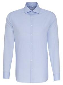 Seidensticker Uni Oxford Spread Kent Blauw