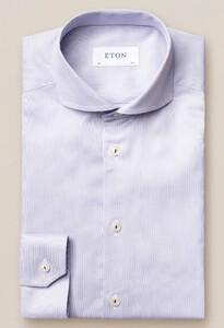 Eton Royal Signature Twill Extreme Cutaway Wit Melange