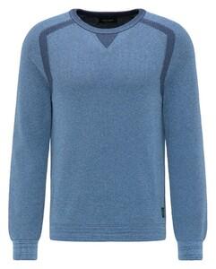 Pierre Cardin Knit Denim Academy Subtle Contrast Blauw