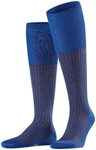 Falke Oxford Stripe Saffier