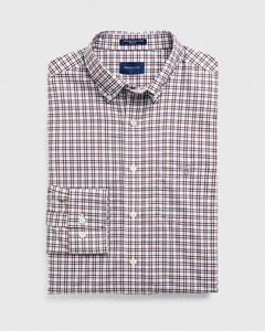 Gant The Broadcloth 3 Color Gingham Port Red
