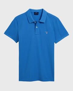 Gant Gant Piqué Polo Palace Blue
