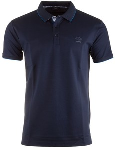 Paul & Shark Fine Contrasted Navy Plain Navy