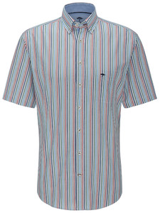 Fynch-Hatton Multicolour Combi Stripe Blue-Ruby