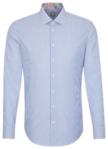 Jacques Britt Oxford Stripe Blue
