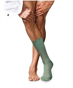 Falke No. 10 Socks Egyptian Karnak Cotton Sage Melange