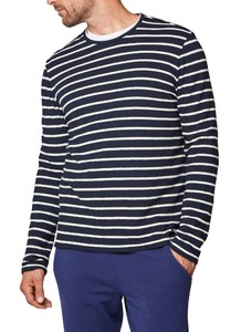 Maerz Striped Shirt Navy