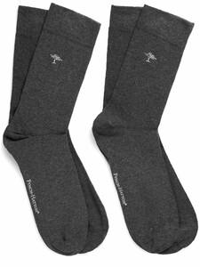 Fynch-Hatton Uni Socks 2-Pack Anthra