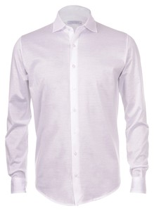 Gran Sasso Mercerized Cotton Jersey Wit