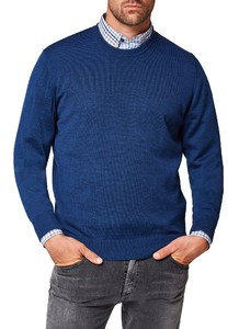 Maerz Round Neck Merino Superwash Dodger Blue
