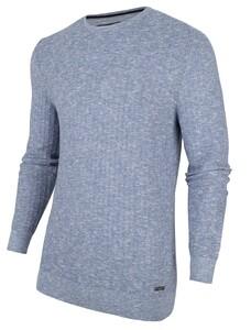 Cavallaro Napoli Furio Pullover Midden Blauw