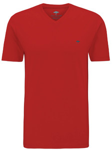 Fynch-Hatton V-Neck T-Shirt Sangria