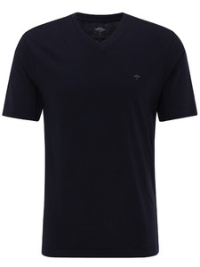 Fynch-Hatton V-Neck T-Shirt Navy