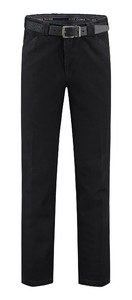 Com4 Wing-Front Denim Jeans Zwart