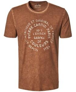 Pierre Cardin T-Shirt Denim Academy Cognac
