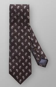 Eton Mini Paisley Tie Donker Bruin Melange
