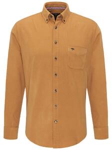 Fynch-Hatton Corduroy Garment Dyed Rib Mosterd