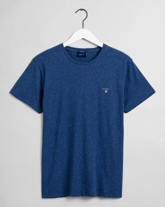 Gant Gant The Original T-Shirt Dark Cobalt Blue Melange