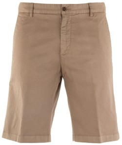 Paul & Shark Stretch Flat-Front Bermuda Sand
