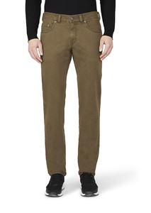 Gardeur Bill-3 Two Tone Cotton Olive Brown