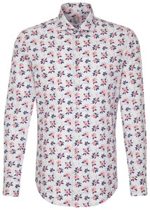 Jacques Britt Floral Business Fantasy Grey Melange