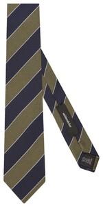 Seidensticker Diagonal Stripe Groen