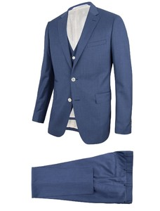 Cavallaro Napoli Sposare Suit Blue