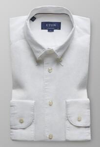Eton Soft Button Down Shirt Wit